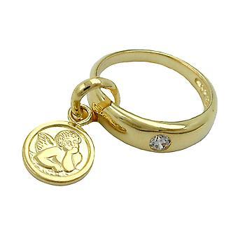 حفلة المعمودية قلادة التعميد المجوهرات الذهب 375 قلادة، خاتم التعميد مع