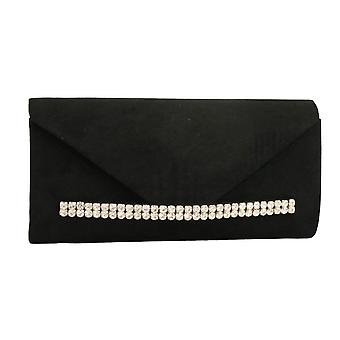 Lunar Womens Clutch Bag Flora Black