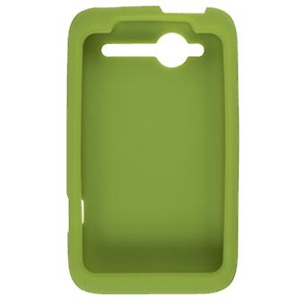 OEM HTC Wildfire ADR6225 CDMA housse Silicone - vert