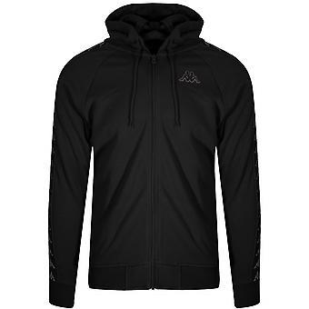 Kappa Kappa Black 222 Banda Arit Hooded Sweatshirt