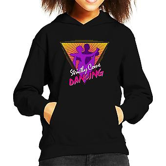 Strictly Come Dancing 80s Style Kid's Hooded Sweatshirt
