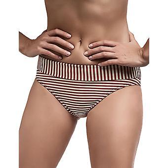 Marlies Dekkers 18184 naisten Holi Vintage punainen Ecru raidallinen uimapuvut asut Bikini Bottom