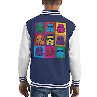 Stormtrooper original Pop jaqueta Art infantil