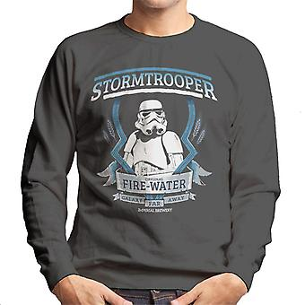 Original Stormtrooper Fire Water Men's Sweatshirt