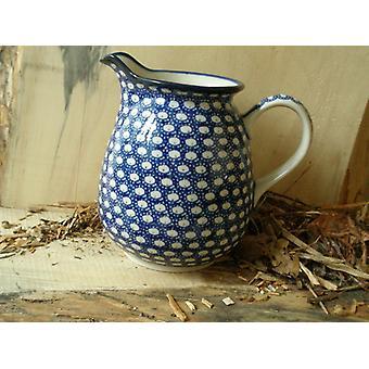 Jarra, 1000 ml, altura 16 cm, 4 - tradicional Polaco cerámica - BSN 4801
