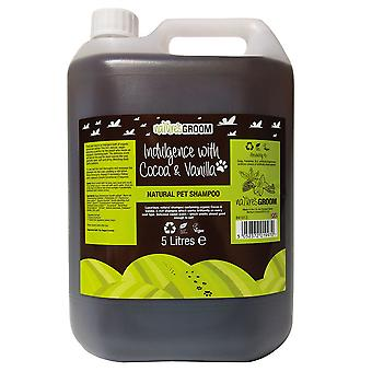 Natures Groom Indulgence With Cocoa & Vanilla Shampoo 5L