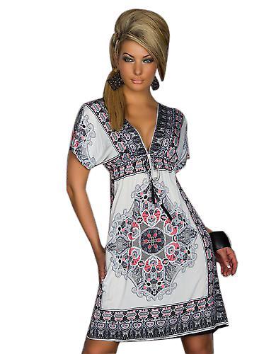 Waooh - Mode - böjda mönster klänning stil mandala