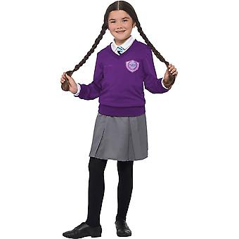 St Clare's Costume, Enid Blyton Fancy Dress, Large Age 10-12
