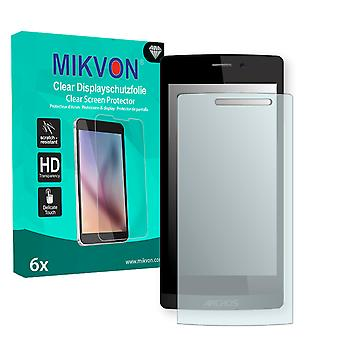 Archos 50 Diamond Screen Protector - Mikvon Clear (Retail Package with accessories)