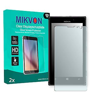 Nokia Lumia 925 Screen Protector - Mikvon Clear (Retail Package with accessories) (reduced foil)