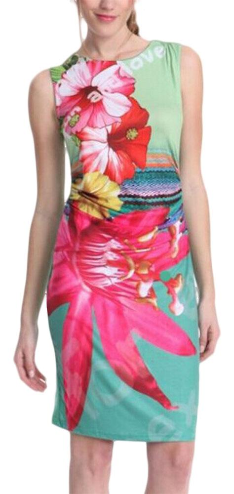 Waooh - Short dress flower print Oquz