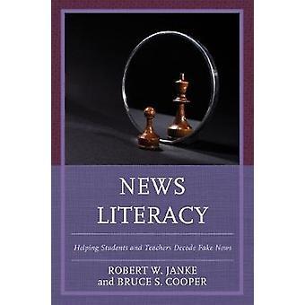 Nieuws-alfabetisme - helpen studenten en docenten decoderen vals nieuws door Robe