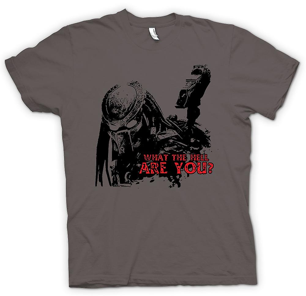 Womens T-shirt - was zum Teufel Predator - Alien