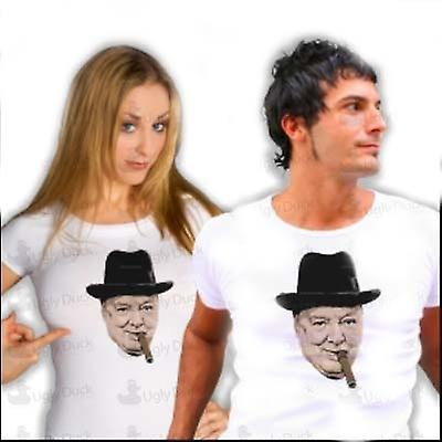 Mens t-skjorte - Winston Churchill - WW2