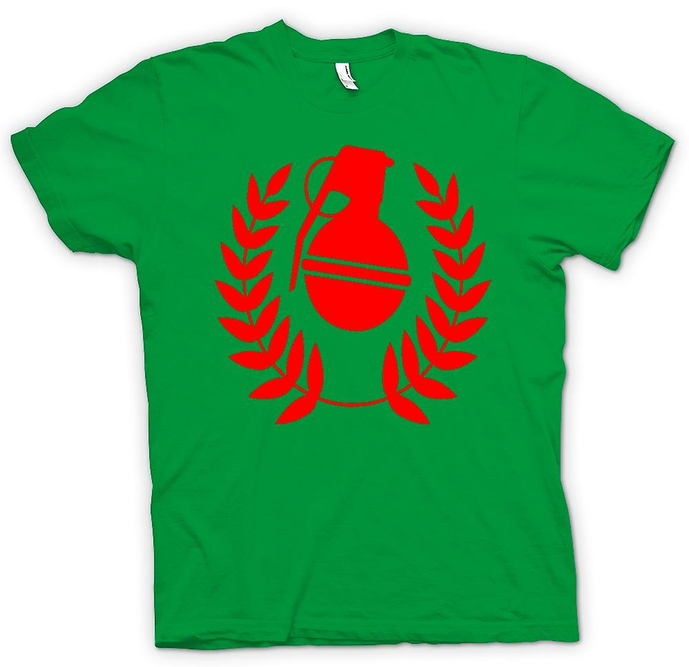 Mens T-shirt - Grenade For Peace - Antiwar