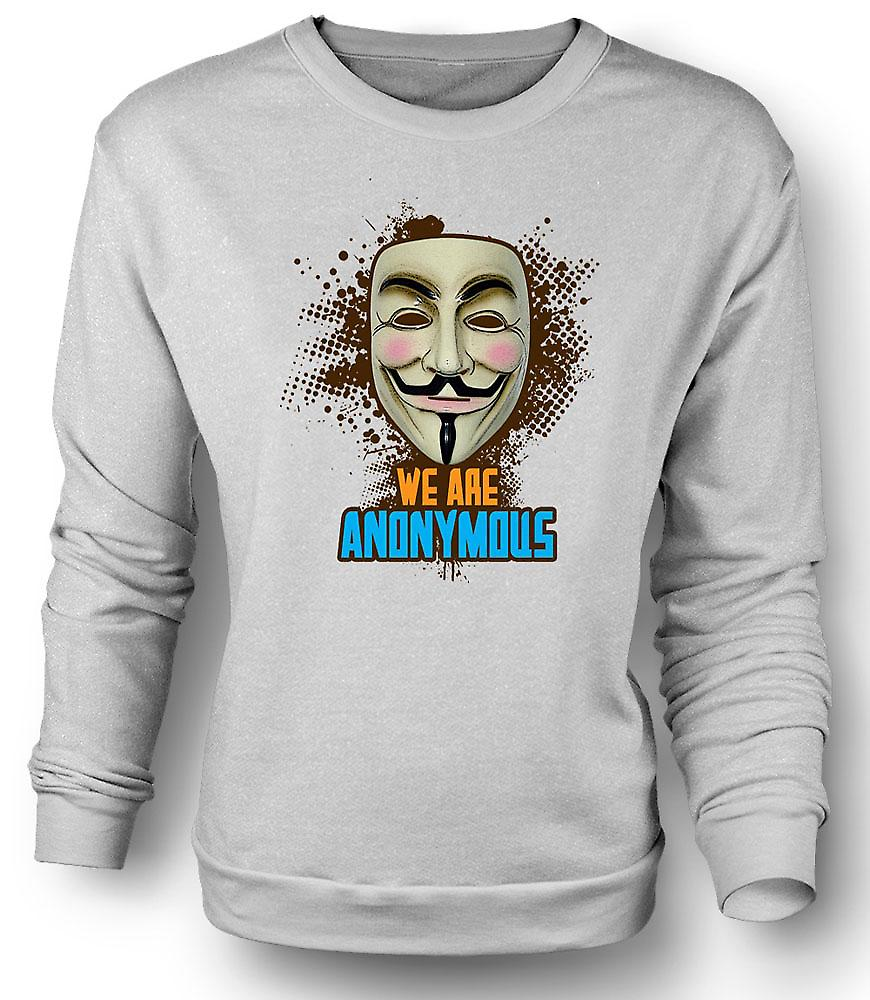 Mens Sweatshirt V For Vendetta anonym