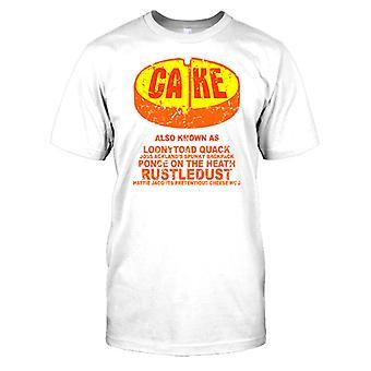 Cake - AKA Looneytoad Quack Funny Drug Mens T Shirt