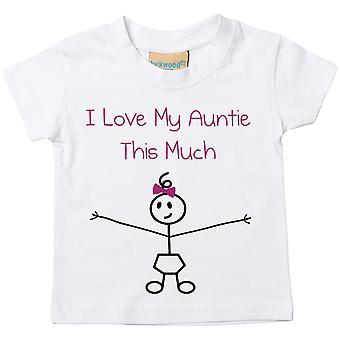 Flickor jag älskar min tant denna mycket Tshirt