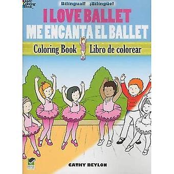Adoro il balletto / Me Encanta El Ballet: libro da colorare bilingue (Dover libri da colorare)