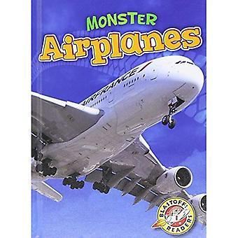 Monster Airplanes (Blastoff! Readers: Monster Machines)