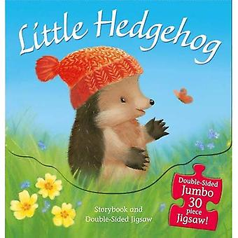 Little Hedgehog: Storybook and Double-Sided Jigsaw