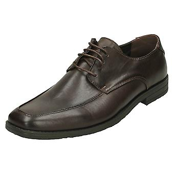 Mens Malvern Flat Lace Up Shoe - A2102