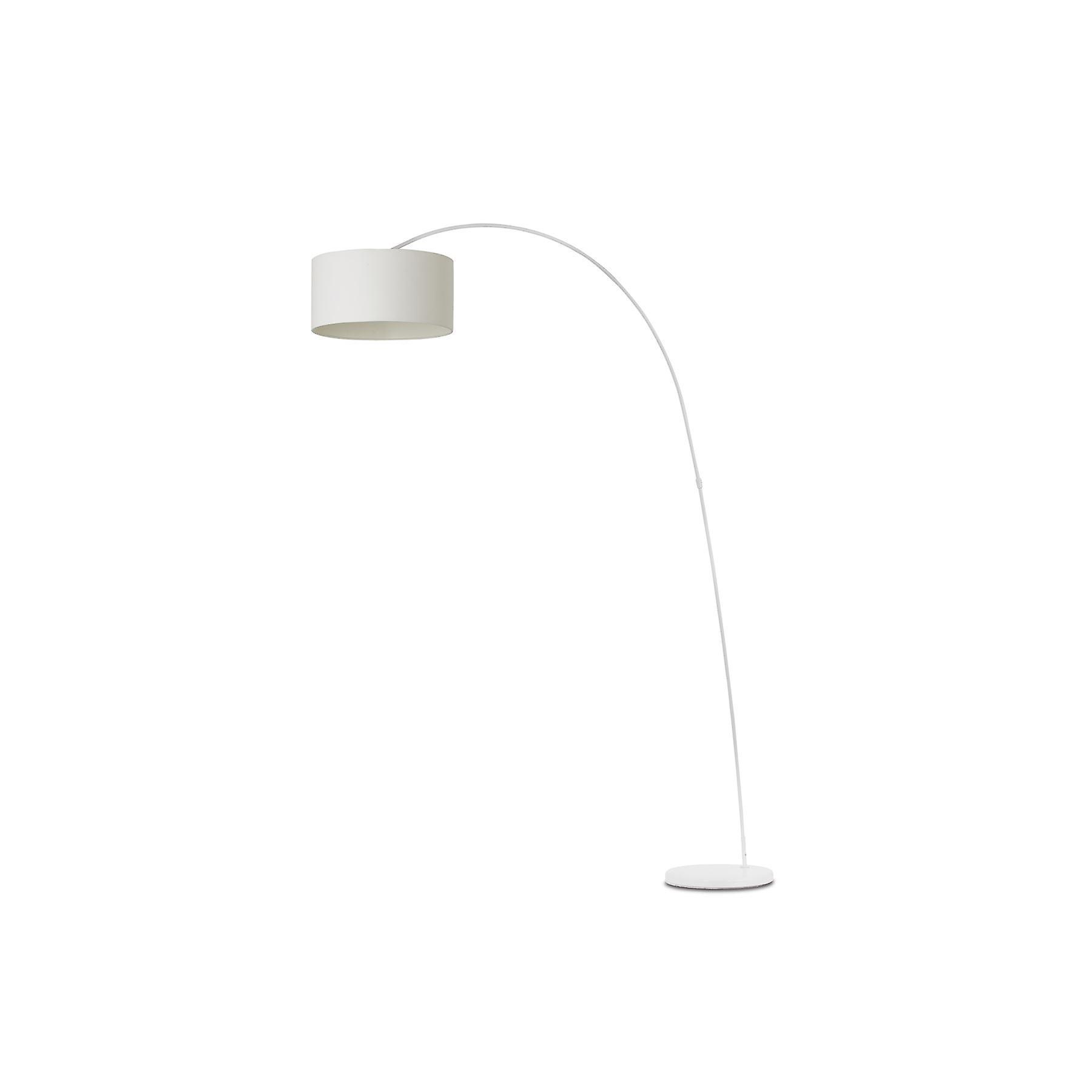 Faro - Papua blanc Floor Lamp With Shade FARO68462