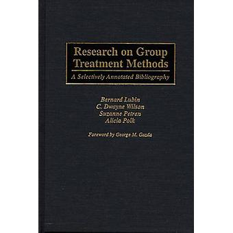 Research on Group Treatment Methods A Selectively Annotated Bibliography by Lubin & Bernard