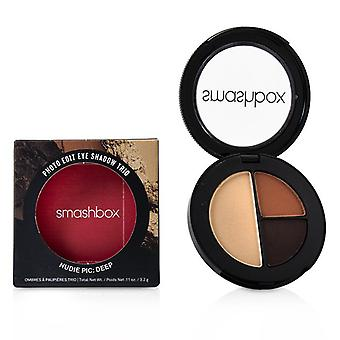 Smashbox Photo Edit Eye Shadow Trio - # Nudie Pic Deep (Vintage In The Mood Lacy Sunday) - 3.2g/0.11oz