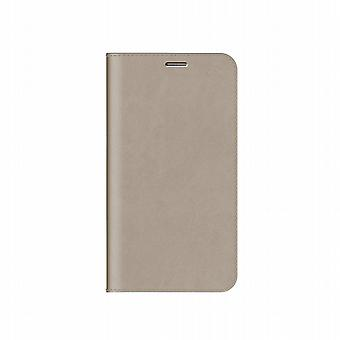 Folio Diary cover beige Samsung Galaxy Note 4 Anymode (top)
