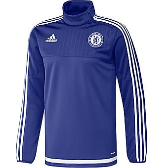 2015-2016 Chelsea Adidas Top Training (niebieski)