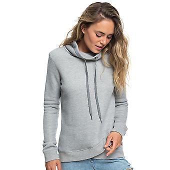 Roxy Womens Seasons Change Pullover Fleece - Heritage Heather Gray