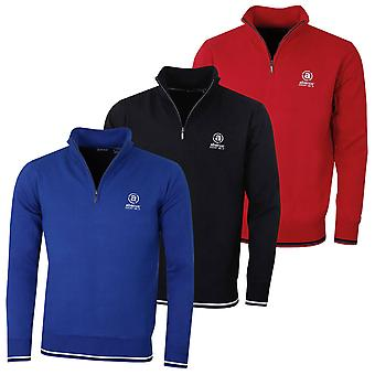 Abacus Mens 2019 Dubson Wind Stop Tour Logo Golf Sweater