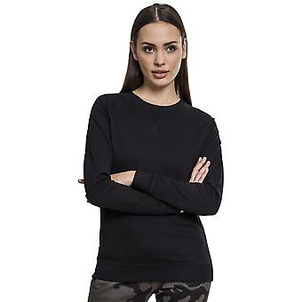 Urban Classics Women's Long sleeve shirt Terry Raglan Crew