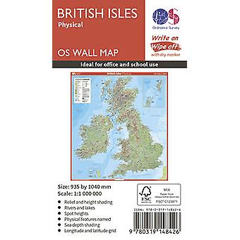 British Isles Physical by Ordnance Survey - 9780319148426 Book