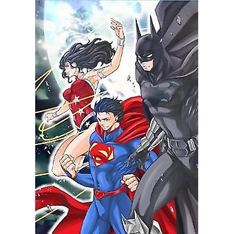 Batman and the Justice League Manga Volume 1 by Batman and the Justic