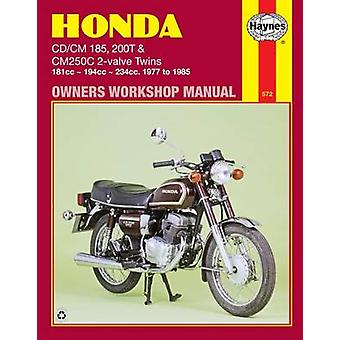Honda CD/CM185 - 200 and CM250C Twins 1977-85 Owner's Workshop Manual