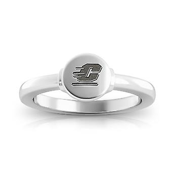 Central Michigan University Chippewas Logo Engraved Signet Ring