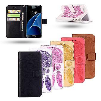 Samsung Galaxy S7 - Läderfodral / Plånbok - Drömfångare