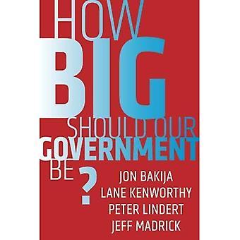 Hvor stor må vor regering være?