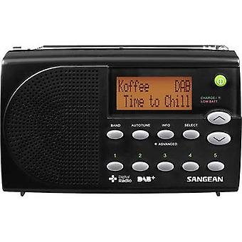 Sangean DPR-65 DAB+ Portable radio DAB+, FM Battery charger Black