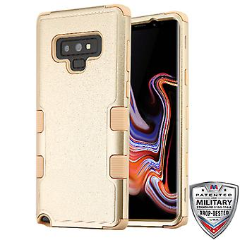 MYBAT Textured Gold/Gold TUFF Hybrid Protector Cover   for Galaxy Note 9