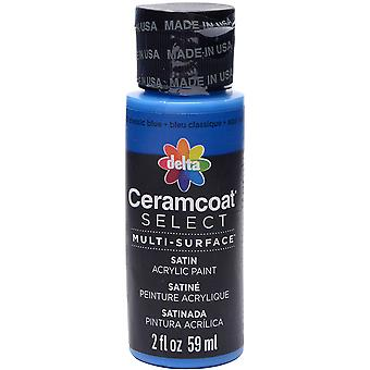 Ceramcoat Select Multi-Surface Paint 2oz-Classic Blue 4000-04025