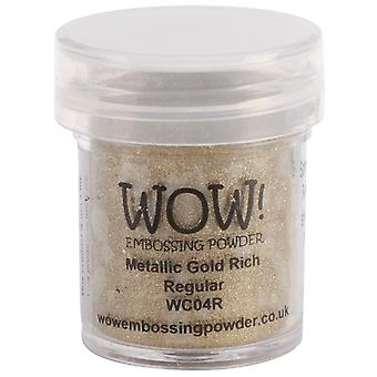 Wow! Embossing Powder 15Ml Gold Rich Wow Wc04r