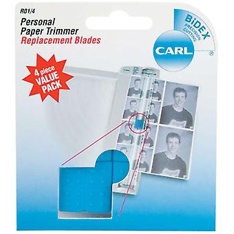 Personal Paper Trimmer Replacement Blades 4 Pkg Straight R01 4
