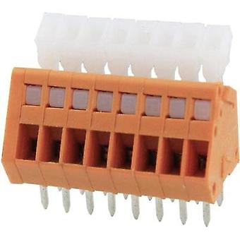 Spring-loaded terminal 0.51 mm² Number of pins 4 DG240-2.54-04P-15-00AH Degson Orange 1 pc(s)
