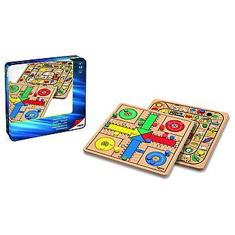 Cayro Parchis-Oca Wood Metal Box (Toys , Boardgames , Traditionals)