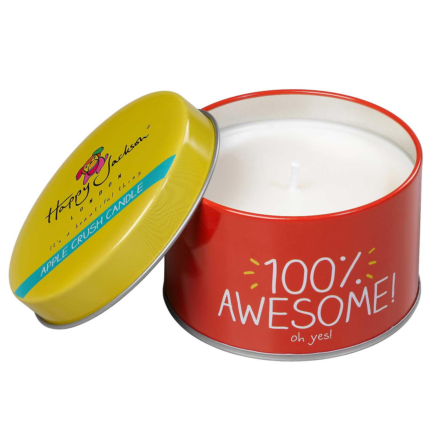 100% Awesome Candle by Happy Jackson and Wild & Wolf