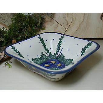 Dish, approx. 14 x 14 cm, height 4.50 cm, 47 - unique porcelain tableware - BSN 6563
