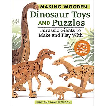 Fox Chapel-Making Wooden Dinosaur Toys & Puzzles FOX-38909